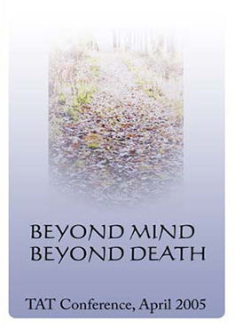 Beyond Mind, Beyond Death – DVD